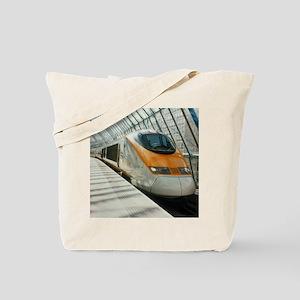 Eurostar Channel Tunnel train - Tote Bag
