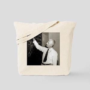 Hermann Oberth, German rocket pioneer - Tote Bag