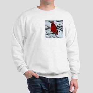 Snow Cardinal Sweatshirt