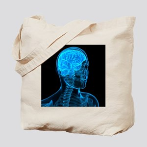Head anatomy, artwork - Tote Bag