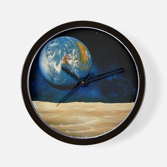 Moon - Wall Clock