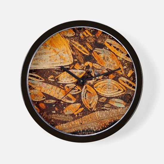 Limestone - Wall Clock