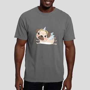 Unicorn Pug Mens Comfort Colors Shirt