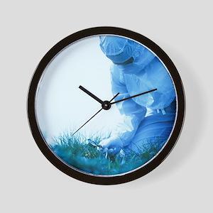 Environmental contamination - Wall Clock