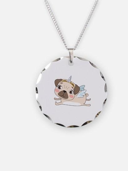 Unicorn Pug Necklace