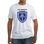 79TH INFANTRY DIVISION Fitted T-Shirt