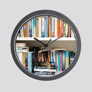 Fiction books - Wall Clock