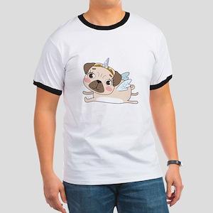 Unicorn Pug Ringer T