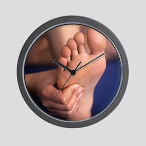 Reflexology massage - Wall Clock