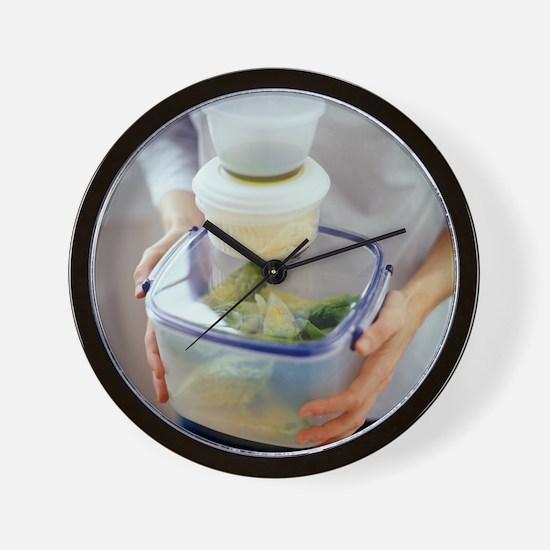 Salad ingredients - Wall Clock