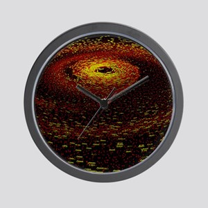 Alien planet forming - Wall Clock