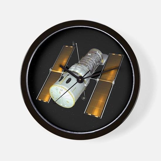 Hubble Space Telescope, artwork - Wall Clock
