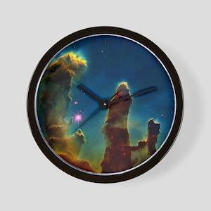 Gas pillars in the Eagle Nebula - Wall Clock