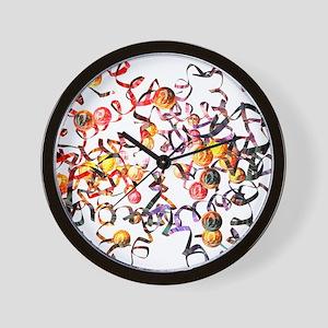 Haemoglobin molecule - Wall Clock