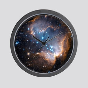 Starbirth region NGC 602 - Wall Clock