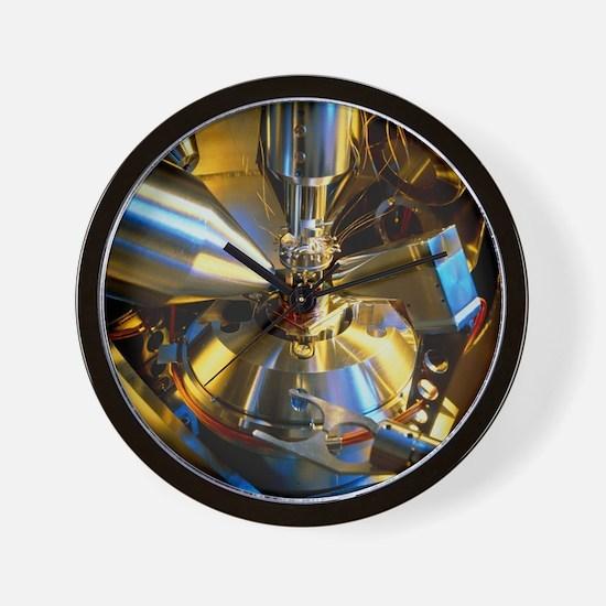 Scanning electron microscope - Wall Clock