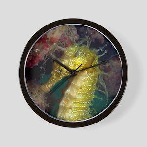 Seahorse - Wall Clock