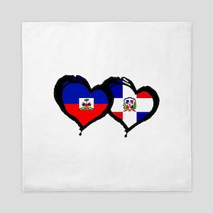 Haiti X Dominican Republic Queen Duvet