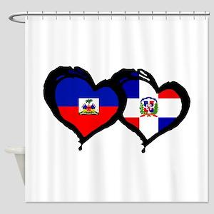 Haiti X Dominican Republic Shower Curtain