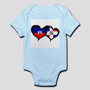 Haiti X Dominican Republic Infant Bodysuit