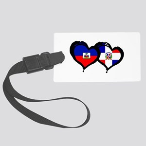 Haiti X Dominican Republic Large Luggage Tag