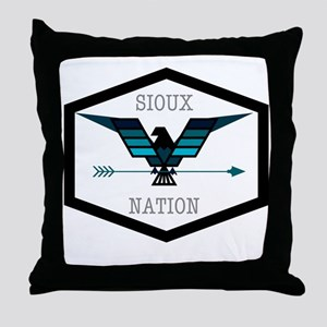 Sioux Nation Throw Pillow