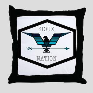 Sioux Nation Throw Pillow