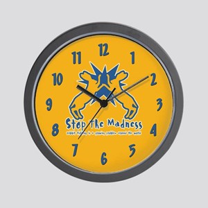 Rabbit Fighting Wall Clock