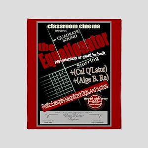 Equationator Classroom Cinema Throw Blanket