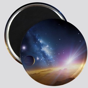 Extrasolar gas giant planet, artwork - Magnet