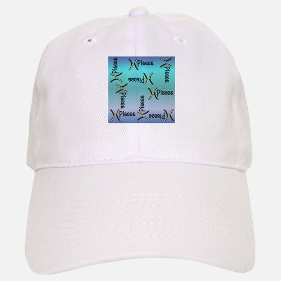 Blue Pisces, Sign of the Zodiac Baseball Baseball Cap