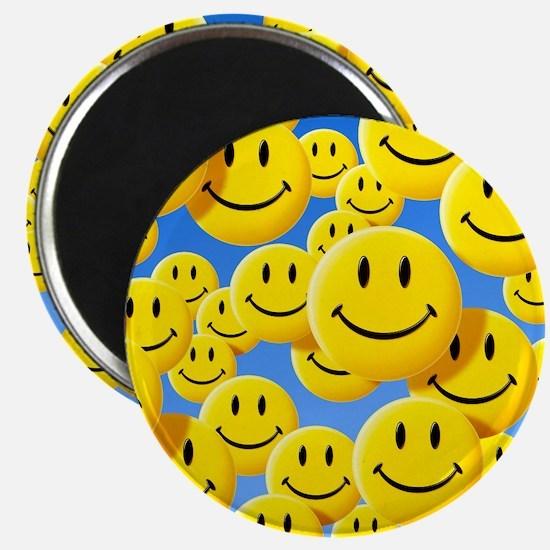 Smiley face symbols - Magnet