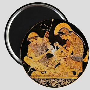 Achilles binding Patroclus' wound - Magnet