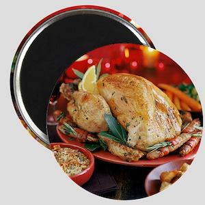 Christmas dinner - Magnet
