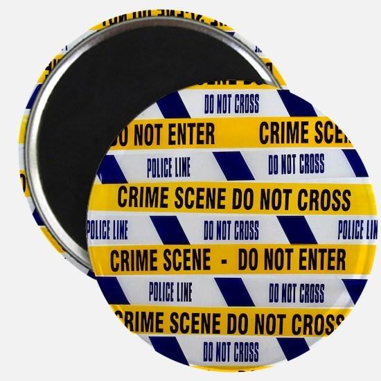 Crime scene tape - Magnet
