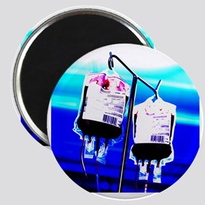 Blood bags on drip stand - Magnet
