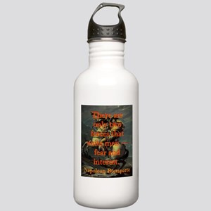 There Are Only Two Forces - Napoleon Water Bottle