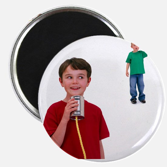 Tin can telephone - Magnet