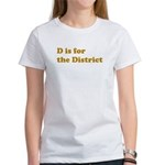 D is for the District Women's T-Shirt