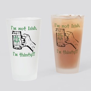 FMC Thirsty Drinking Glass
