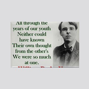 All Through The Years Of Our Youth - Yeats Magnets