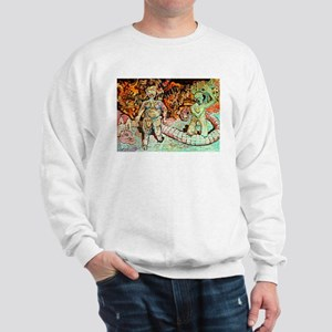 ADAM AND EVE ON JUDGEMENT DAY Sweatshirt