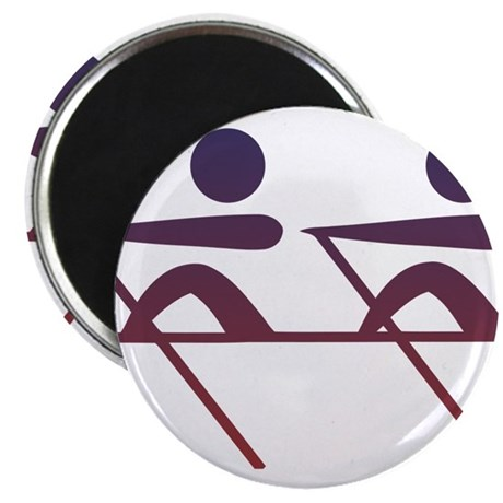 Rowing pictogram Magnets