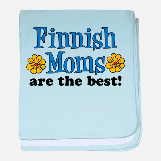 Finnish Moms Are The Best baby blanket