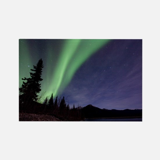 Aurora borealis - Rectangle Magnet