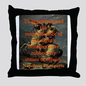Your Portrait And The Remembrance - Napoleon Throw