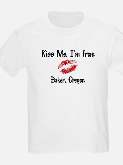 Baker - Kiss Me Kids T-Shirt