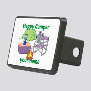 Custom Happy Camper Mouse Hitch Cover