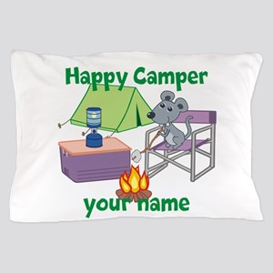 Custom Happy Camper Mouse Pillow Case