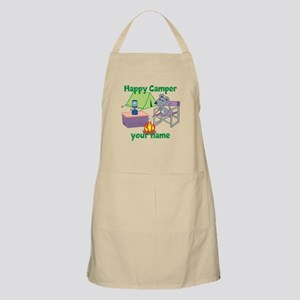 Custom Happy Camper Mouse Apron